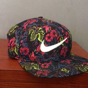 Floral limited edition nike hat
